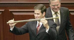 Bush Rubio sword