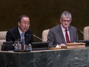 Ban Ki-Moon Mogens Lykketoft