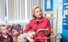 Hillary-reading