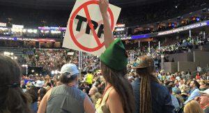 Bernie supporters DNC 2016